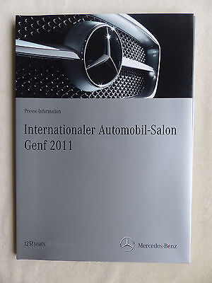 Mercedes-Benz C 63 AMG C-Klasse Coupe SLK - Pressemappe press-kit Genf 03.2011