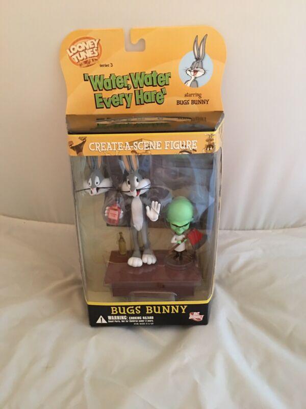 "Series 3 - Looney Tunes Bugs Bunny Create A Scene ""Water Water Every Hare"" NIB"
