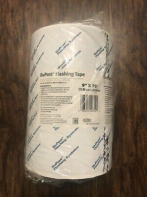 Dupont Tyvek Flashing Tape - 9 X 75 - 1 Roll New