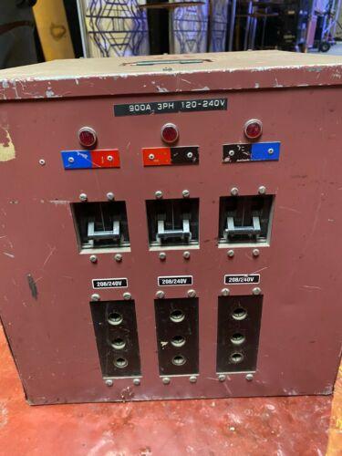 Power distribution box  900 amp 120/208 Mole Richardson
