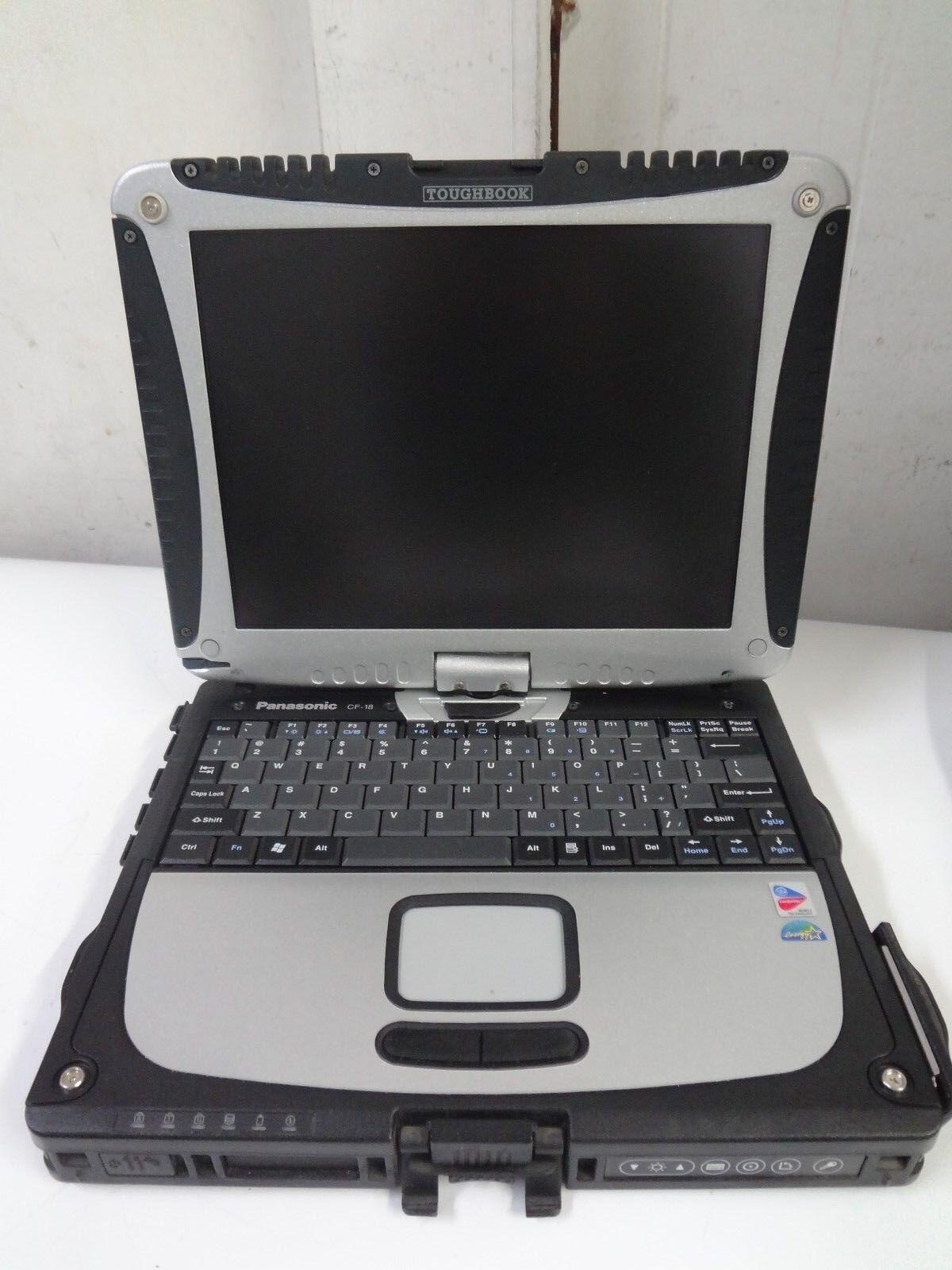 "Panasonic Toughbook CF-18 Intel Pentium M 900MHz 1.256MB  Ram ""NO HDD"" Laptop"