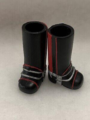 "Bratz Girlz Doll Kidz Horseback Fun 7"" Sasha Black Red Tall Boots"