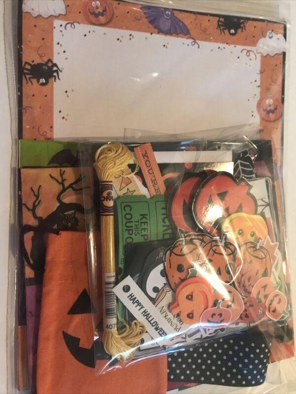 80pc Cute Halloween Junk Journal Scrapbook Collage Paper Crafts Set #15 Ephemera