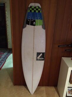 Custom Annesley surfboard 5'11 near new  Palm Beach Gold Coast South Preview