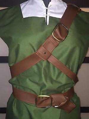 Legend of Zelda cosplay Twilight Princess BELT SET belts for Link Costume