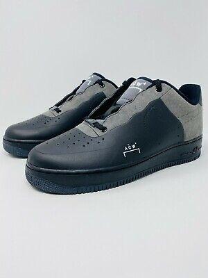 Nike Air Force 1 07 ACW Low x A Cold Wall Black Shoe (BQ6924-001) Men's Size 10