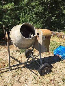 Older cement mixer..$325