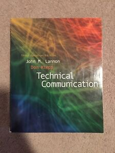 Technical Communication (third Canadian edition)