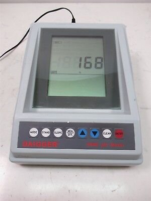 Daigger 6173ph Laboratory Ph Meter Jenco W Power Adapter Lab Unit
