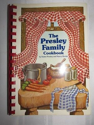 The Presley Family Cookbook - Signed by Vester Presley - 9th Printing 1990