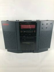 Vintage Sunbeam Clock Radio With Cassette Player Model # RR610 NEW Old Stock