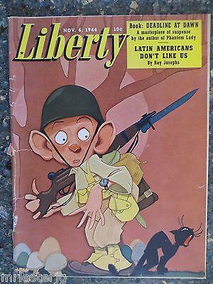Liberty Magazine  November 4 1944  Latin America  Vintage Ads  Yanks Abroad