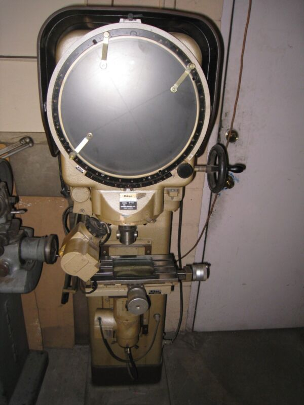 Nikon Comparator Model V-14, Profile Projector