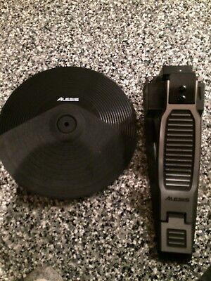 "Alesis DM 10 Electronic 12"" HI HAT Cymbal and controller pedal DM10 drum"