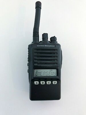 Vertex Standard Vx-354-g7 Uhf Portable Two-way Radio Wstubby Antenna