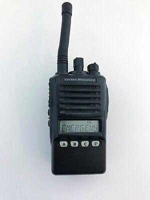 Vertex Standard Vx-354-g7 Uhf Portable Two-way Radio Wstubby Antenna