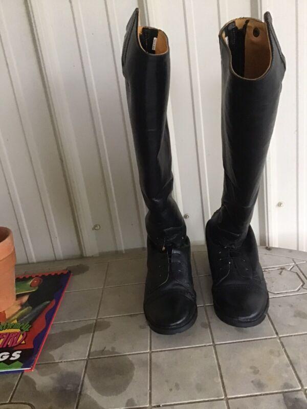 Tall english riding boots
