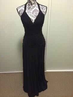 Events long black dress formal wedding bridesmaid size 8 Brighton-le-sands Rockdale Area Preview