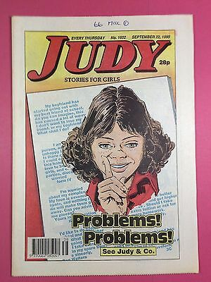 JUDY - Stories For Girls - No.1602 - September 22, 1990 - Comic Style Magazine