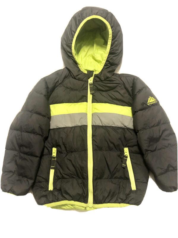 Snozu toddler hooded puffer jacket size 4T