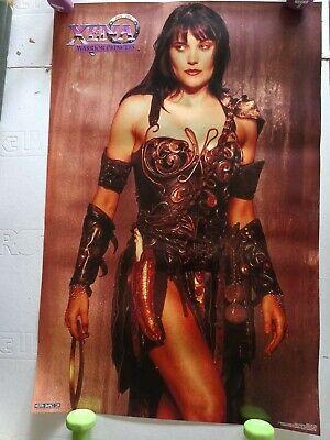 "Vintage Xena Warrior Princess Poster 1996 MCA Television 23"" x 34"" RARE VGC"