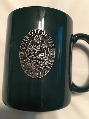 Mug University Of Tennessee School Of Agriculture And Commerce With Metal Crest