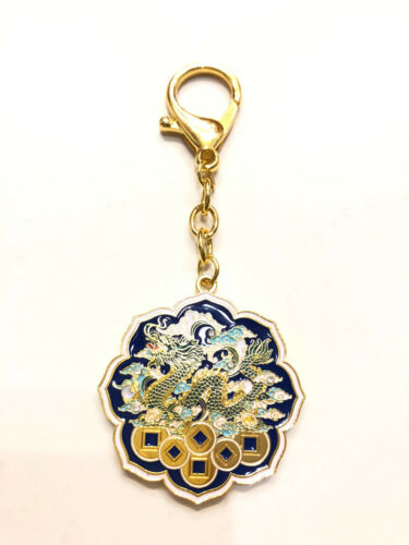2021 Feng Shui Dragon Heavenly Seal Amulet Keychain