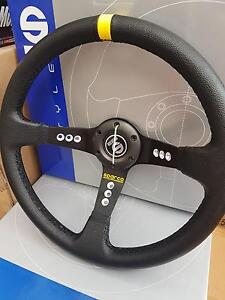 Sparco steering wheel performance 350mm deep dish racing horn Hallam Casey Area Preview
