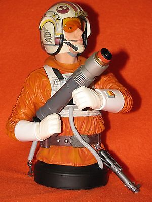 Mini Bust Luke Skywalker Star Wars Snowspeeder Pilot by Gentle Giant NIB