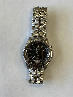 Seiko Men's stainless Steel Perpetual Calendar Watch
