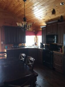 Cottage rental 3 bedrooms air pool Grand Barachois