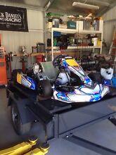 """Arrow x3 go kart lame 125cc """"swap/trade """"make an offer"""" Bendigo Bendigo City Preview"""