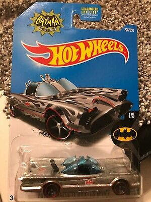 Hot Wheels Batman Classic TV Series Batmobile Zamac
