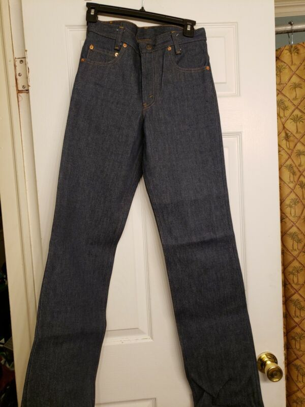 Vintage Levis 717- 0917 Student Fit Jeans Blue Denim 27 x 34  Zipper Fly