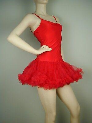 M&m Adult Costumes (Puffy PETTICOAT DRESS Red S/M &)