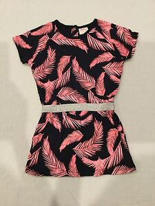 Girls Milky Leaf Print Dress from Myer Size 2 Keswick West Torrens Area Preview