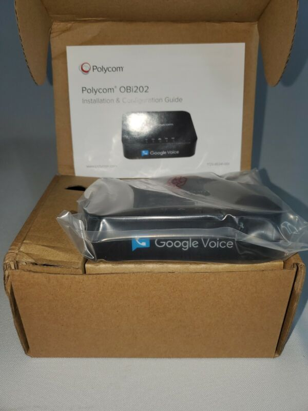 Polycom Obihai OBi202 - 2 Port  with google voice Home and SOHO Phone Service
