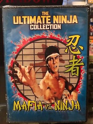 Mafia Vs. Ninja (DVD) Alexander Lou, Robert Tai, English Dubbed! BRAND NEW!