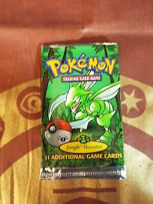 POKEMON 1ST EDITION JUNGLE EMPTY BOOSTER PACK - NO CARDS INSIDE