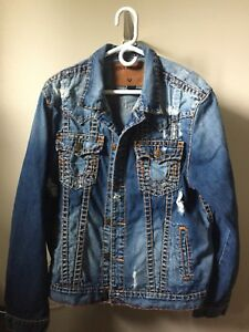 True Religion Super T Jean Jacket