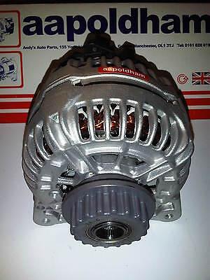FOR VW TOUAREG 2.5 TDi R5 2003-2010 TD DIESEL BRAND NEW 180A ALTERNATOR & PULLEY