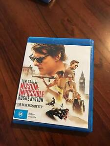 Mission Impossible Rogue Nation  Blu-Ray (Price includes Postage) Pakenham Cardinia Area Preview