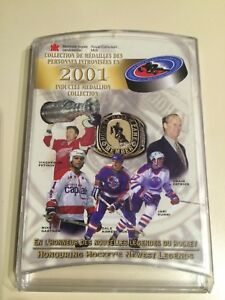 Royal Canadian Mint 2001 Inductee Medallion Collection