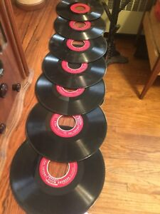 RARE SEEBURG INDUSTRIAL RECORDS   SET  red label