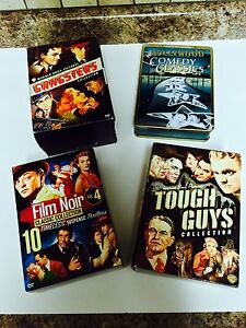 DVD BOX SETS X4! FILM NOIR COLLECTION/GANGSTERS/TOUGH GUYS London Ontario image 1