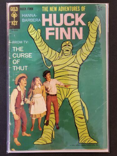 New Adventures of Huck Finn #1 Gold Key VG Comics Book