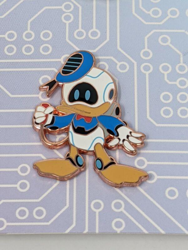 Disney Donald Duck Robot Character Booster Pack Pin