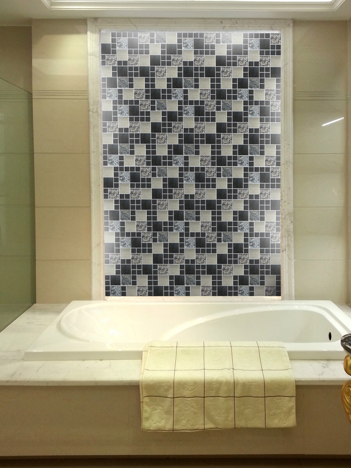 metallic wall tiles kitchen metallic random mix glass mosaic wall tiles kitchen 7479