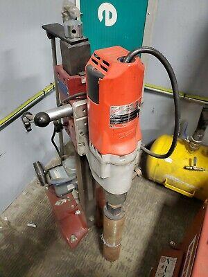 Mk Manta Iii Core Drill With Milwaukee Motor And Vacuum Base