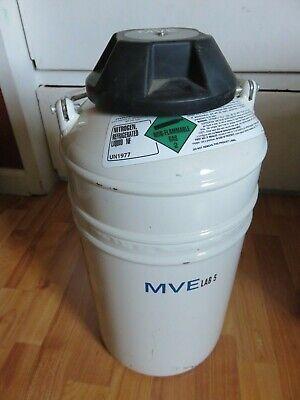 Liquid Nitrogen Dewar - Mve - Lab 5 - Free Shipping